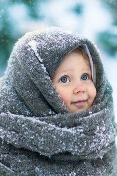 Même quand il fait froid, les enfants ont besoin de prendre l'air !