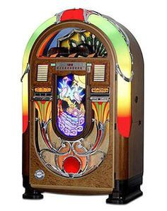 It would be so wonderful to have your own jukebox, of course stocked with your favorite music.