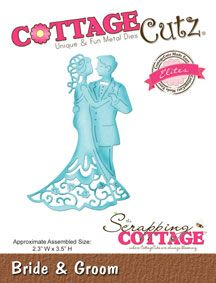 CottageCutz Bride & Groom (Elites)