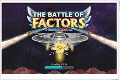 The Battle of Factors - Multiplication Game Multiplication Games, Math, 4 Kids, Movie Posters, Ideas, Math Games, Maths Area, Interactive Activities, Educational Games