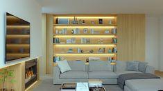 Proyecto 03 3D de interiorismo para vivienda unifamiliar situada en Las Rozas, Madrid alfonsoperezalvarez.com