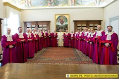 Pope Francis delivered his first allocution to the Roman Rota on Friday, at the start of the court's judicial year. The Roman Rota is the Ch...