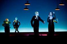 "Robert Wilson Directs Bertolt Brecht and Kurt Weill's ""Threepenny Opera"" with The Berliner Ensemble. Yes! Photo by Stephanie Berger."