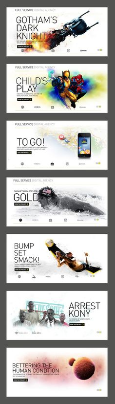 Full Service Digital Agency ~ #WebDesign #GraphicDesign #Inspiration more on http://themeforest.net/?ref=Vision7Studio