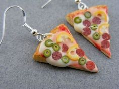 food earrings - Google Search