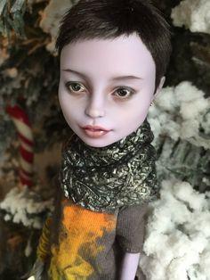 OOAK Custom Monster High Doll Repaint by Olga Kamenetskaya