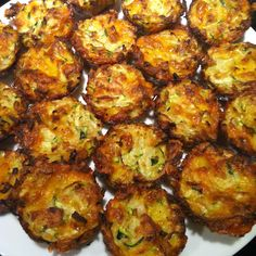 Easy Zucchini Bites Appetizer ~ Eight By Five
