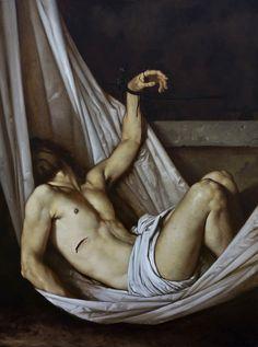 Roberto Ferri Deposizione Olio su tela 80x60cm.jpg (743×1000)