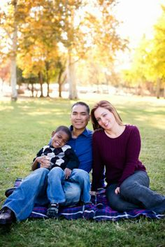 Fall Family Photo Session of 3 People | Urke Photography