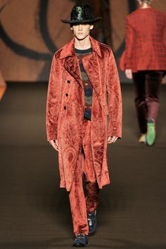 cowboy pimp? maybe? fall 2012 menswear: Etro
