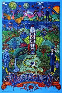 David Welker Grateful Dead Free Friday Poster Giveaway