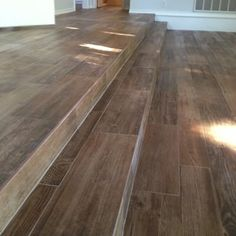 Wood Look Porcelain Tile - Long Steps - Yelp