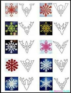 Snowflakes guide