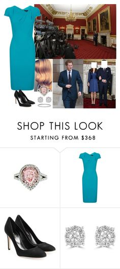 """(Read Pls!!)Engagement Announcement and Interview"" by chineye-aworh ❤ liked on Polyvore featuring Issa, Diana M. Jewels, Roland Mouret, Sergio Rossi, Effy Jewelry, Blue Nile, women's clothing, women's fashion, women and female"