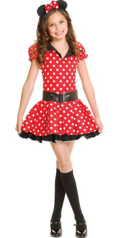 Teen Girls Miss Mouse Costume - Party City cute