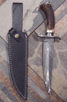 Just Handmade / Custom Knives - Listings View Dakota Bowie Knife. #handmade #knives #customknives
