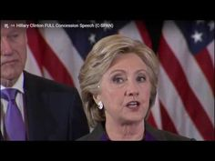 Body Language:  - Clinton's after Election Fight - We watch Clinton's concession speech and Obama's congratulatory speech on Trump winning the presidency. What we see is a fight still going on.
