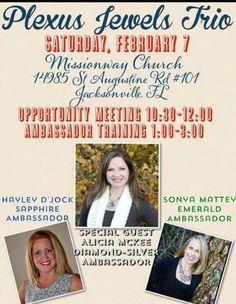 Come be my guest!! #jacksonville #plexus
