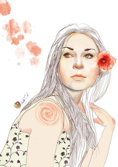 Your Porcelain Doll   Digital Portraits inspiration