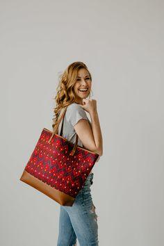 Hand Weaving, Brown Leather, Textiles, Pairs, Shoulder Bag, Tote Bag, Handmade, Fashion, Moda