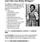 ruby bridges research Providing access to original materials referencing the social & cultural importance of america's ethnic & racial history, the african diaspora, and civil rights.