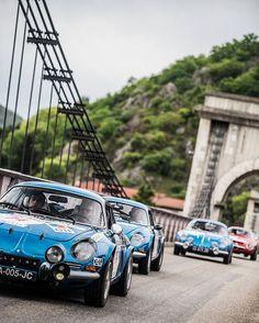 Bridgin'. #tourauto #tourdefranceauto #tourdefranceautomobile #tourdefrance #instacar #carporn #rally #vintage #vintagecar #racecar #racing #drivetastefully #racetastefully #car #getoutanddrive #nikon #nikonphotography #remidargegen #remidargegenphotographies #optic2000 #alpine #alpinerenault #renaultalpine #alpinecars #alpinea110 #bridge #triplets #blue