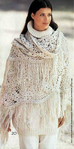 Scialle di pizzo - lace shawl