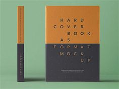 The best Hardcover Book Mockup lets you create your own book design for your hardcover copies. You can customize each design element of the hardcover book mockup since each of them have their own smart layers. Book Cover Design, Book Design, Design Ideas, A5 Book, Leather Book Covers, Best Book Covers, Cover Template, Book Projects, Psd Templates