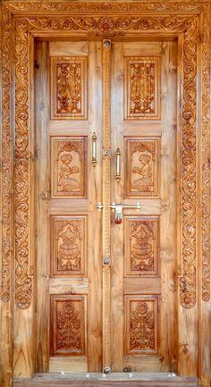 Wooden Double Doors, Wooden Front Door Design, Double Front Doors, Wooden Front Doors, Single Door Design, Double Door Design, Home Entrance Decor, Entrance Design, Furniture Legs