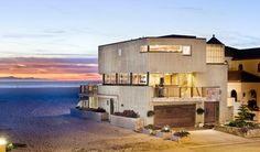 3501 Ocean Drive, Oxnard | A stunning work of architectural brilliance, 3501 Ocean Drive sits on a corner oceanfront lot offering expansive views of the ocean, dunes, harbor and nearby mountain ranges. Offered at $2,995,000.