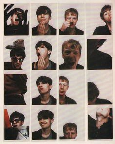 Graham Coxon, Alex James, Dave Rowntree and Damon Albarn from Blur Music Icon, My Music, Blur Band, Charlie Brown Jr, Graham Coxon, The Wombats, Damon Albarn, Art Of Manliness, Britpop