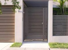 Sydney Metals PTY Limited possesses a flattering standing in offering the dazzling services for sydney. Hence, we have become the most trusted and determined organisation among all the companies. Gate House, Small House Design, House Gate Design, Gate Designs Modern, Entrance Gates Design, Entrance Gates, Door Design, Front Gate Design, House Exterior