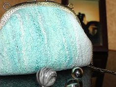 Мастер-класс по валянию свадебной сумочки с фермуаром | Ярмарка Мастеров - ручная работа, handmade