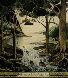 JRR Tolkien's Art by megan_n_smith_99, via Flickr