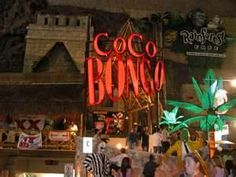 COCO BONGO CANCUN, MEXICO -one of the most fun places I've ever been to!!!