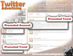 Learn about the difference between promoted accounts, promoted tweets and promoted trends. What does success look like using Twitter advertising? Which metrics are available to help calculate the ROI? Inbound Marketing, Content Marketing, Social Media Marketing, Social Media Tips, Social Networks, Twitter Tips, Infographics, Promotion, Advertising