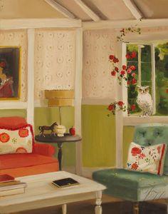 The Secret Diary Of Snow White Art Print by janethillstudio