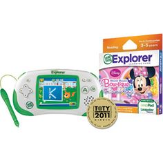 LeapFrog Leapster Explorer Learning Experience Plus Your Choice Software Value Bundle