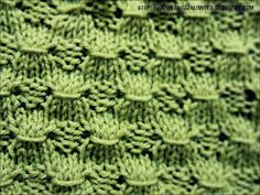 Knitting Unlimited: Knit-Purl Combinations: Pattern 5 - Sheaves Of Wheat