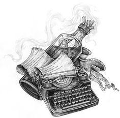 """Charles Bukowski """"Cómo ser un gran escritor"""""""