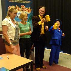 Joris en Boris gaven een kinderpersconferentie bij het BIO Vakantieoord. En ze namen de eerste twee collectebussen weer mee terug naar de bioscopen!!