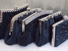 Navy diamante crystal #satin #bridal wedding prom #purse clutch handbag bag uk,  View more on the LINK: http://www.zeppy.io/product/gb/2/121355743263/