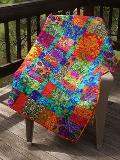 EYE CANDY A Happy Quilt made by BonnieSchechterOrin on Etsy