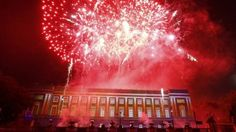 Fireworks for Belgium's King Philippe