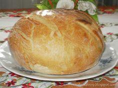 Moje pyszne, łatwe i sprawdzone przepisy :-) : Rewelacyjny chleb z garnka :-) Polecam-najlepszy :-)+FILM Yeast Bread, Bread Baking, Bread Recipes, Cooking Recipes, Feta Salad, Pina Colada, How To Make Bread, Sweet Bread, Bakery