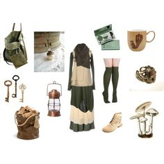Forest Child by maggiehemlock on Polyvore featuring Manostorti, Pennyblack, Louche, Merona, Charlotte Russe, BDG, Lemaire, DuWop, AK47 and Linea