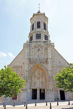église  Saint Leonard. Honfleur. Normandie