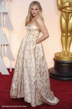 We love Chloe's dress... What do you think?