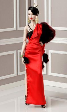 Hot Blooded  Elsa Lin Dressed Doll