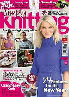 Ravelry: Simply Knitting 62, January 2010